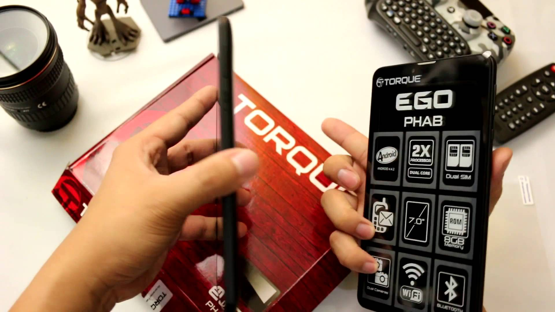 maxresdefault 12 - VIDEO: Torque Ego Phab 3G Unboxing and Device Preview