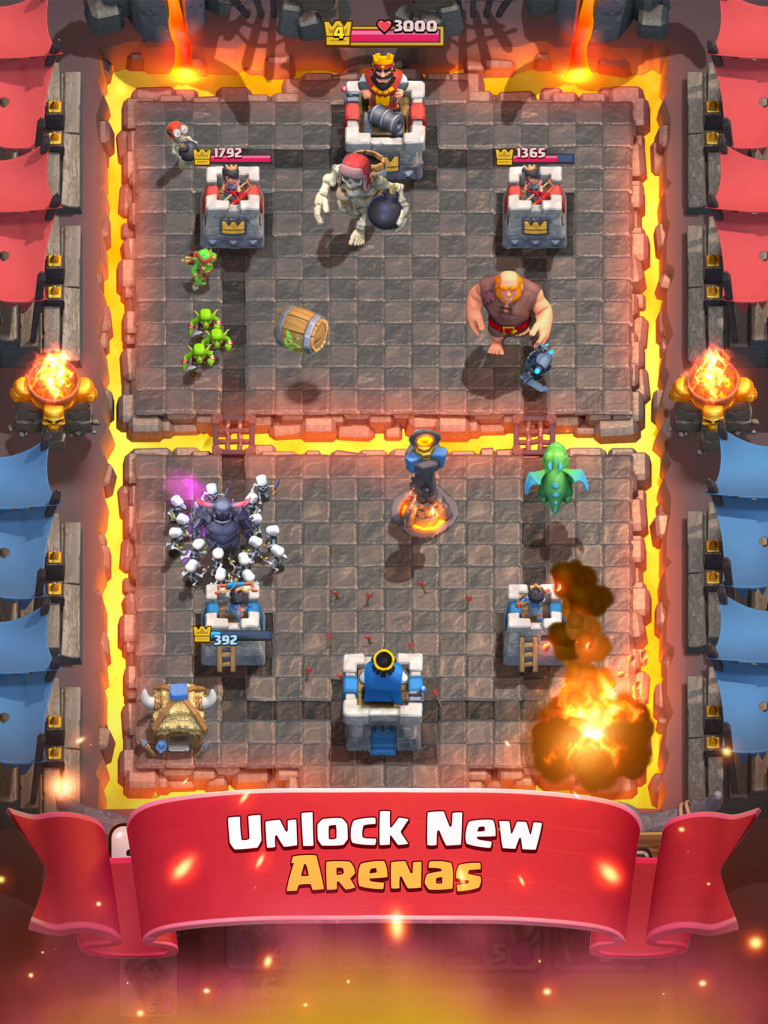Clash Royale, Supercell Launches Clash Royale, Smart Fuels your Real-time Gameplay Experience with PasaData, Gadget Pilipinas, Gadget Pilipinas