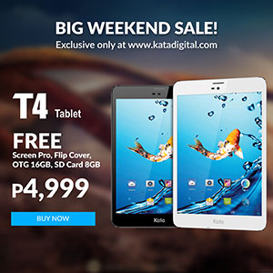 T4 sale 300x300 - Deal Alert: Kata T4 is just PhP4999 TODAY