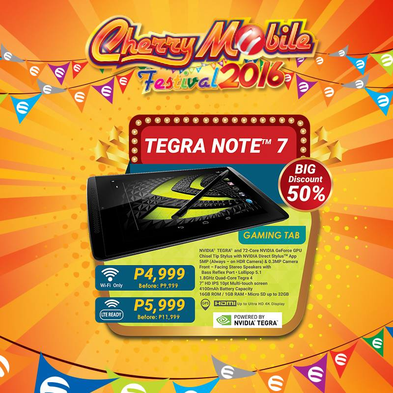 Cherry Mobile Tegra Note 7