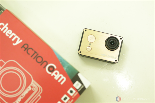 First Look of the Hardware: Cherry Action Cam Explorer 2