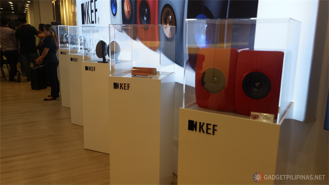 KEF Philippines 1 - KEF Officially Comes to the Philippines, sets up shop in Cobys Gear Gadget at Shangri-La Plaza Ortigas
