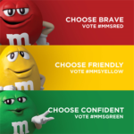 M&M Characters Invade Social Media in their M&M Character of the Year Elections