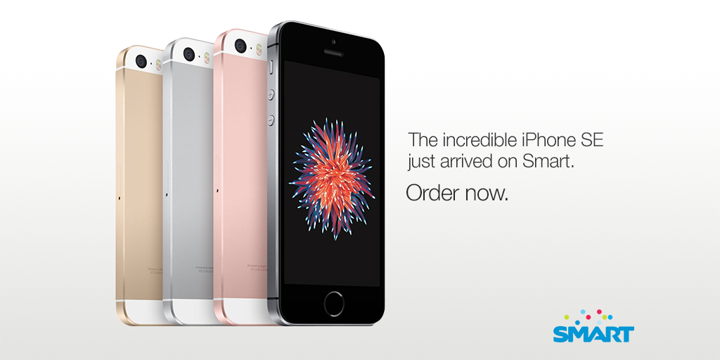 Smart Postpaid iPhone SE TW Poster 05 16 16 - You can now pre-order iPhone SE at Smart, Free for PhP1500 for 30 months