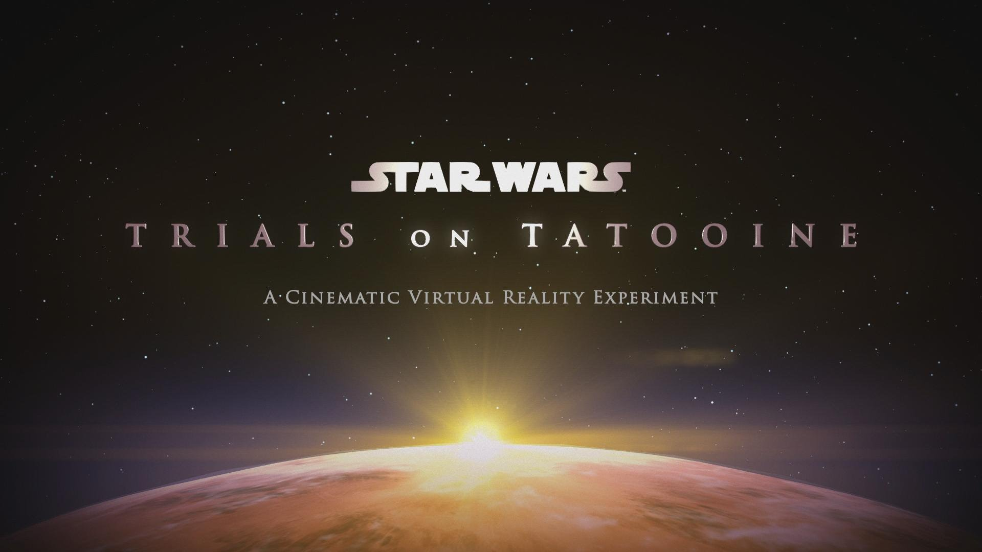 David Goyer Collaborates with Industrial Light and Magic to produce and release a VR movie about Darth Vader