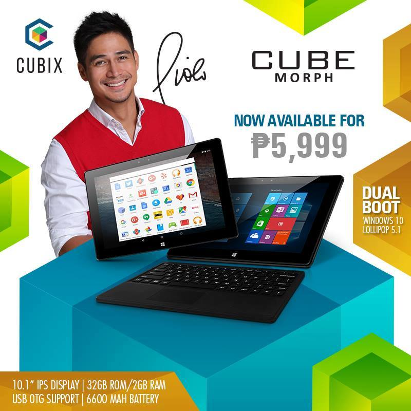 13907033 345537582501060 2969188792379897623 n - Cubix Announces Cube Morph, PhP5999 Dual Boot Windows and Android Laptop