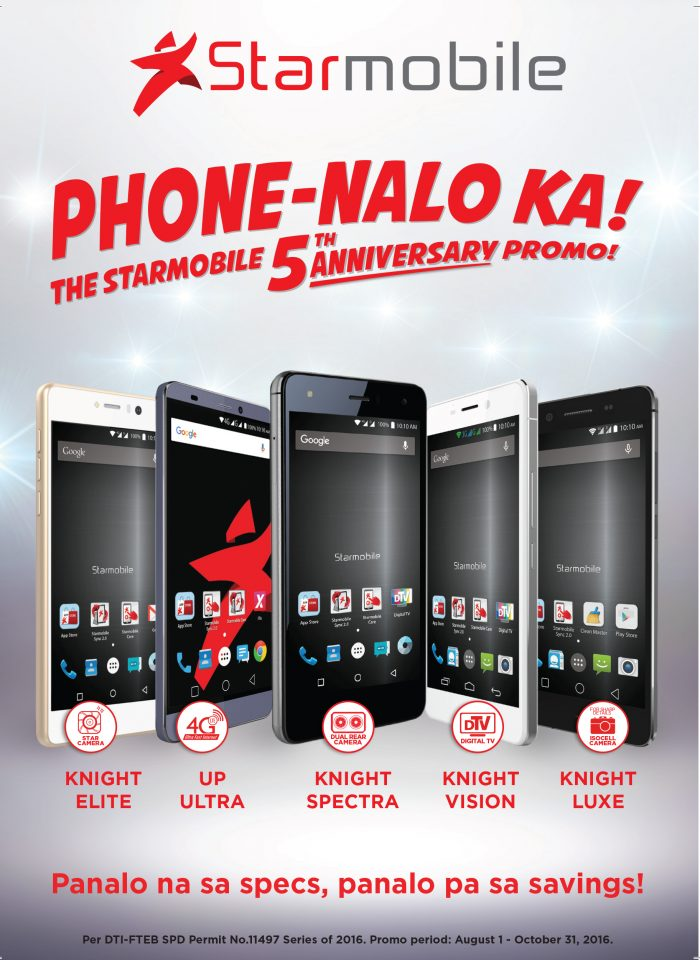 Starmobile Celebrates 5 Years With a Big Sale
