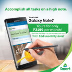 Smart Outs Galaxy Note 7 Plans: Pre-Order Now