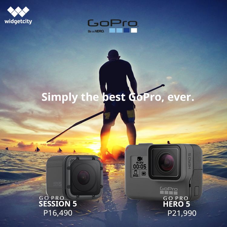 GoPro Hero 5 And Session Now Available For Pre Order At Widgetcity