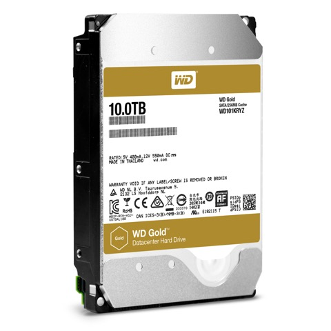 Western Digital Gold 10 TB Datacenter Hard Drive Now Available in PH