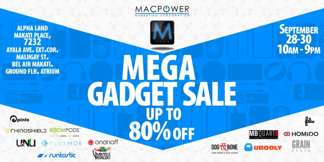 Macpower, Macpower to Hold its First Mega Gadget Sale on September 28 to 30, Gadget Pilipinas, Gadget Pilipinas