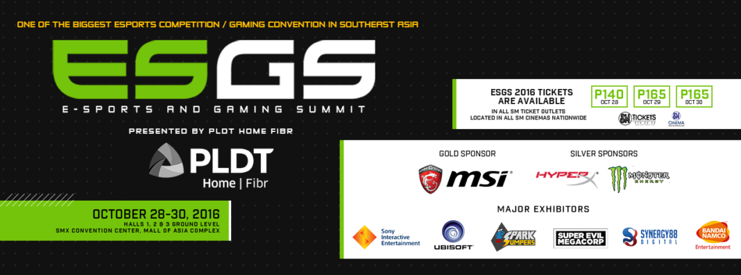 ESGS 2016, What's In Store For You at ESGS 2016, Gadget Pilipinas, Gadget Pilipinas