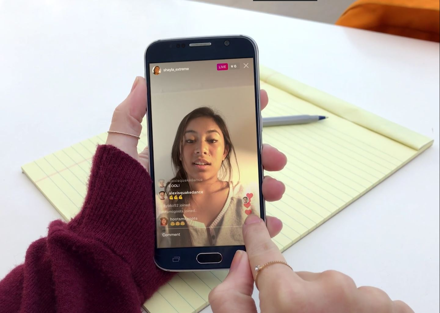 , Instagram Announces Live Video Instagram Stories and DIsappearing Photos and Videos, Gadget Pilipinas, Gadget Pilipinas
