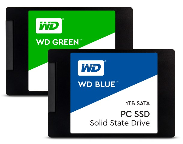 WD Blue WD Green SATA 3 Custom - Western Digital Blue and Green SSD's Now Available in PH! (With Pricing and Availability)