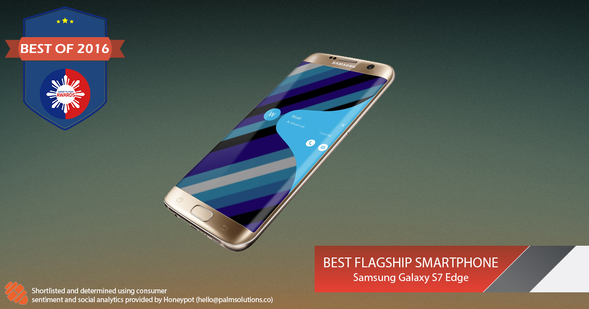 Best Flagship Smartphone - Gadget Pilipinas Awards 2016: Best of 2016