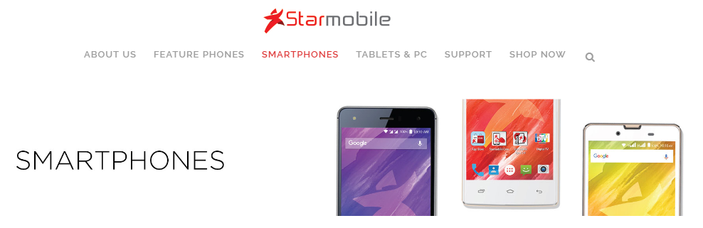 Starmobile Launches Its Own Online Store!
