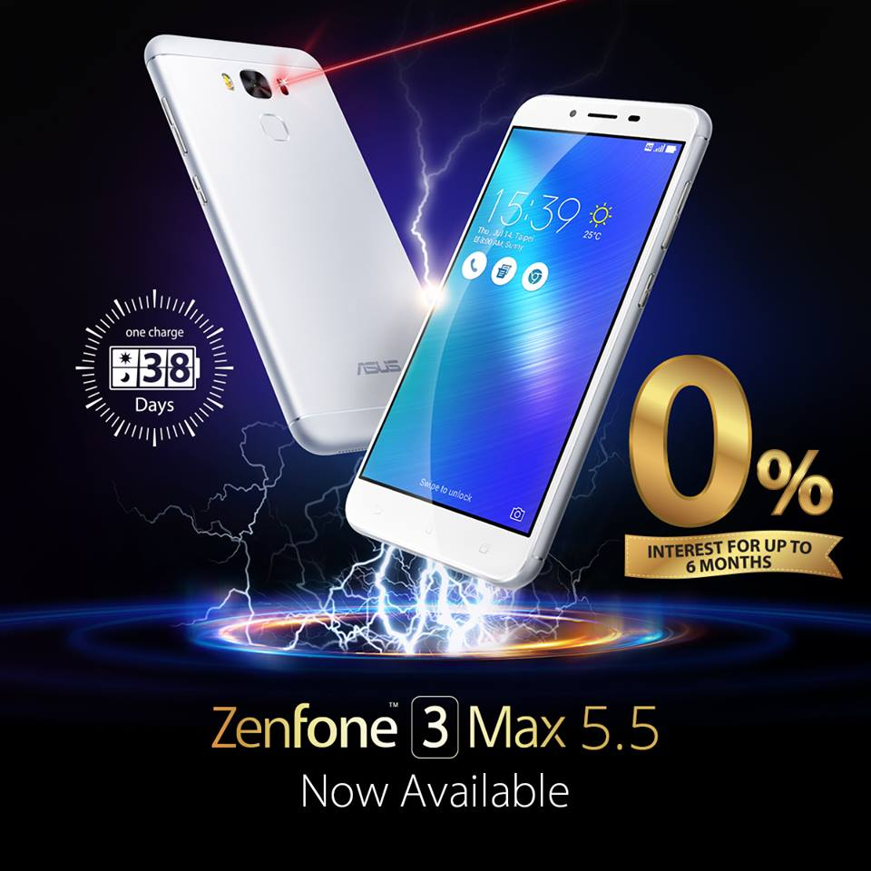 5 5 inch asus zenfone 3 max now available in ph gadget pilipinas. Black Bedroom Furniture Sets. Home Design Ideas