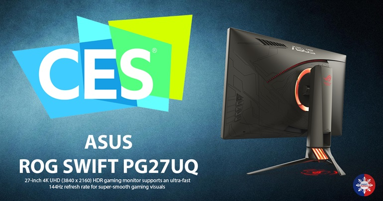 ASUS ROG Swift PG27UQ 1 - ASUS Unveils ROG Swift PG27UQ