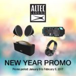 Altec Lansing Holds New Year Special Promo