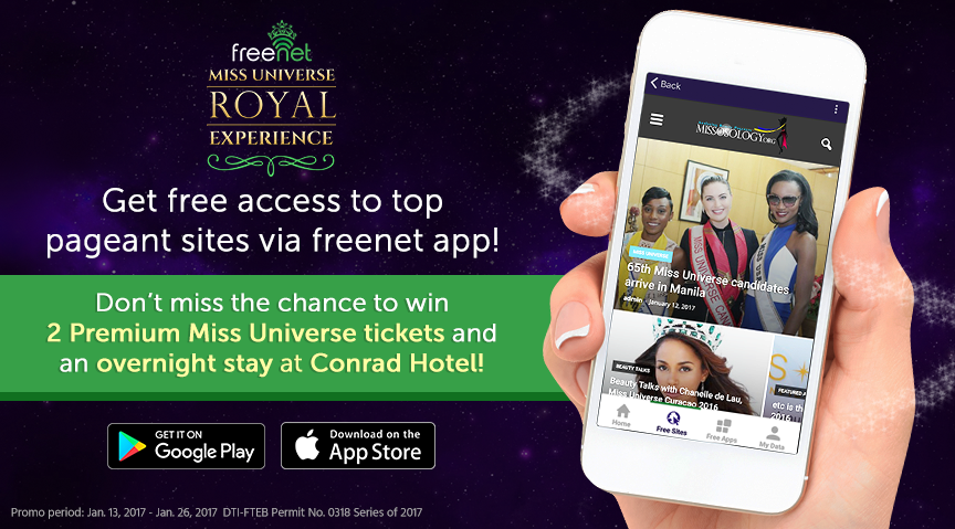 Get Free Access to Top Miss Universe Pageant Sites With Freenet!