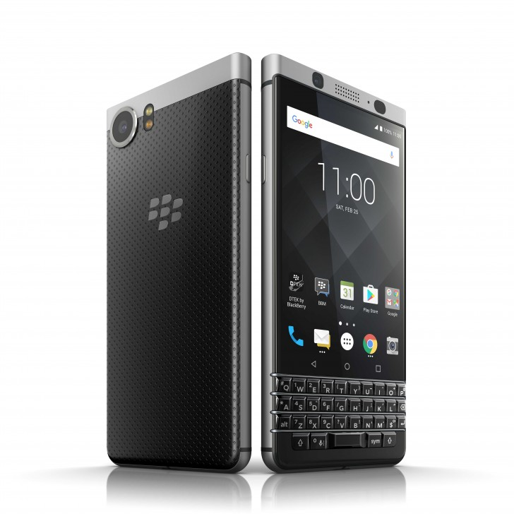Meet the BlackBerry KEYone: Snapdragon 625, 12MP Camera, and a Physical Keyboard