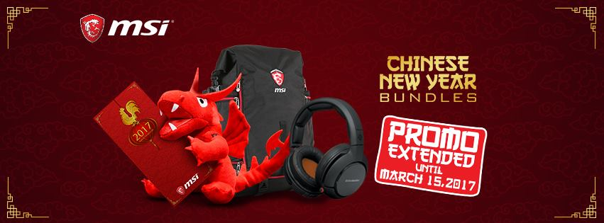 msi logo3 - MSI Extends its Chinese New Year Promo for Gaming Notebooks!