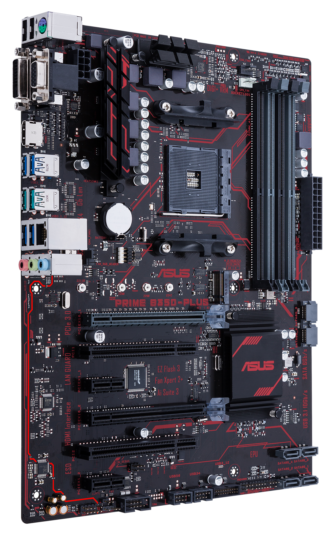 ASUS Prime B350 Plus - ASUS Unveils AMD AM4 Motherboards for Ryzen (With Pricing and Availability)