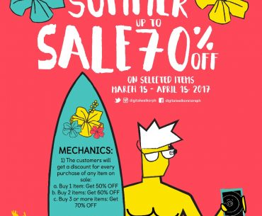 DW SALE 370x305 - Kick Off the Sunny Months with Digital Walker's Endless Summer Promo
