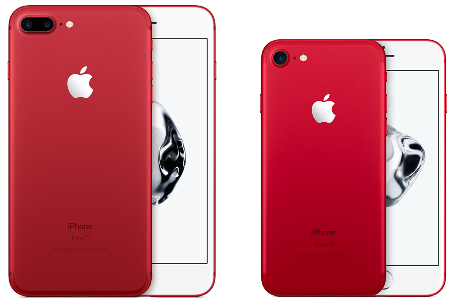 Say Hello to the iPhone 7 and 7 Plus... in Red
