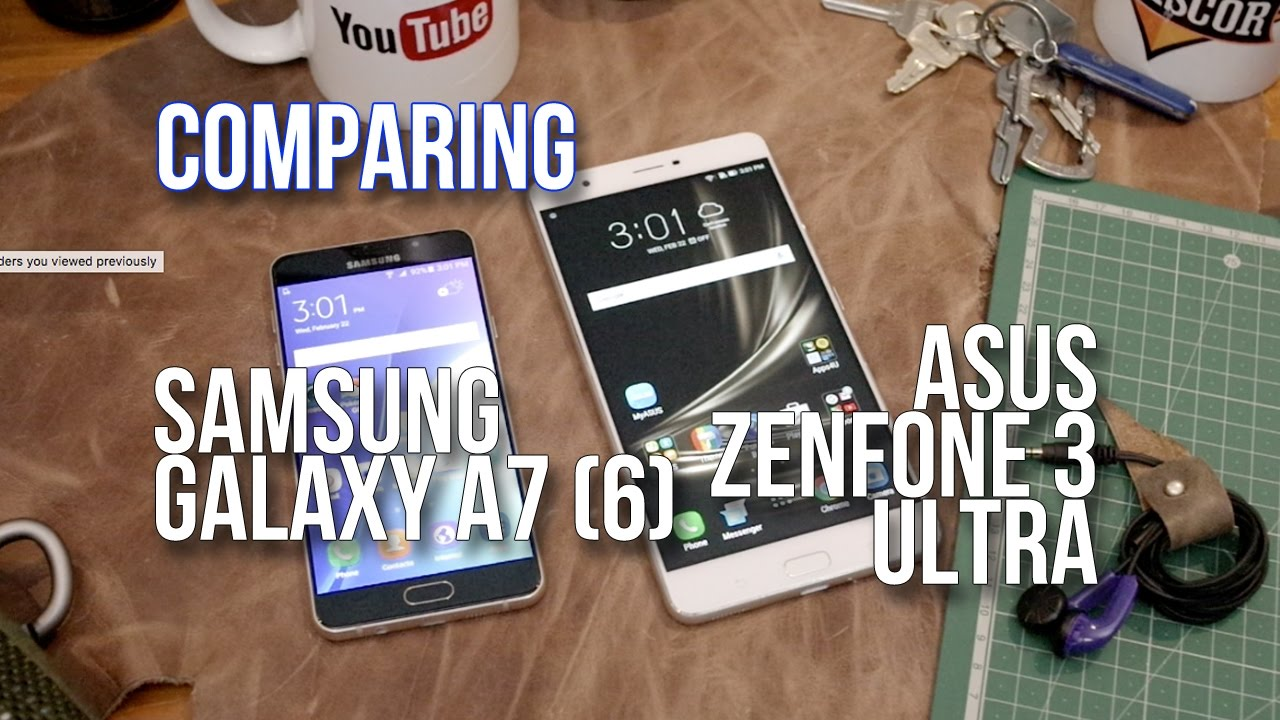 Which is better for an average user: ASUS Zenfone 3 or the Samsung Galaxy A7 (2016)