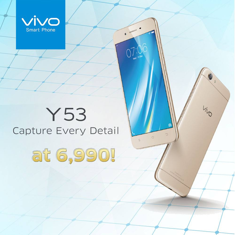y53 1 - Vivo Y53 Now Available in PH for Only PhP6,990!