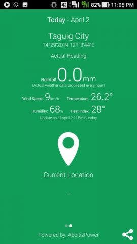 weatherph 4 270x480 - LBC Supports WeatherPhilippines Mobile App for Safety and Preparedness