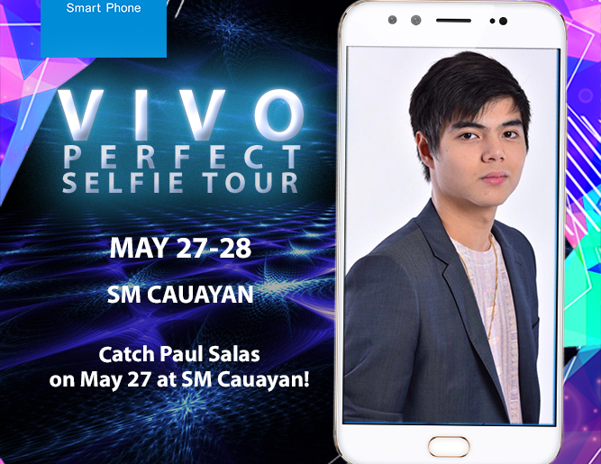 Event Poster 667x515 - Actor and Model Paul Salas to Join Vivo's Mall Tour and Store Opening at SM Cauayan Today!