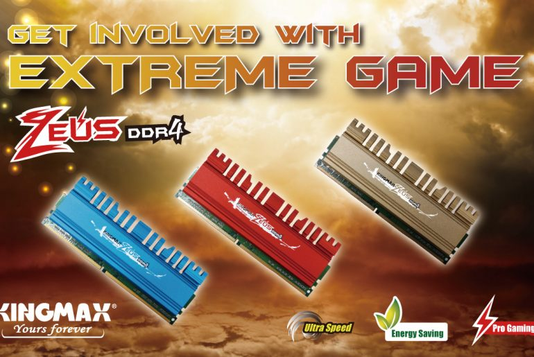 KINGMAX Launches Upgraded ZEUS DDR4 Memory for Gaming Enthusiasts