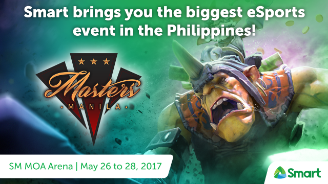 Exciting Prizes Await Subscribers as Smart Powers Manila Masters 2017!