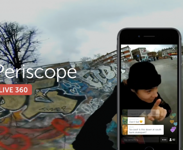periscope 1 370x305 - Periscope Now Supports Insta360 Air: Live 360 Videos on Android