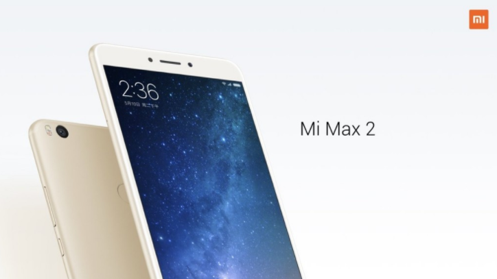 xiaomi mi max2 2 - Xiaomi Unveils Mi Max 2: Snapdragon 625 and a Massive 5,300mAh Battery