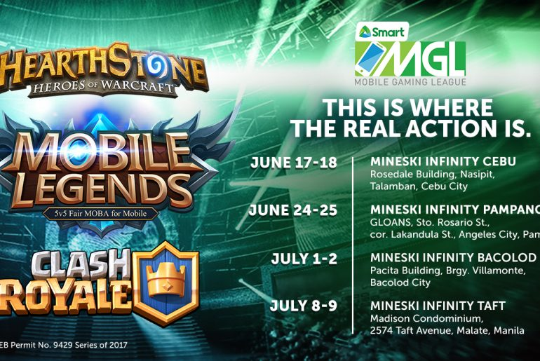 Smart unleashes Php 350k prize pool for MGL