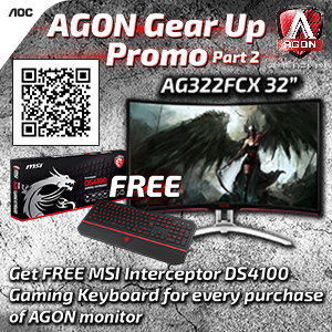 AGON Gear UP Part 2 Gadget Pilipinas - Gear Up With AOC Gaming Monitors (Part 2)