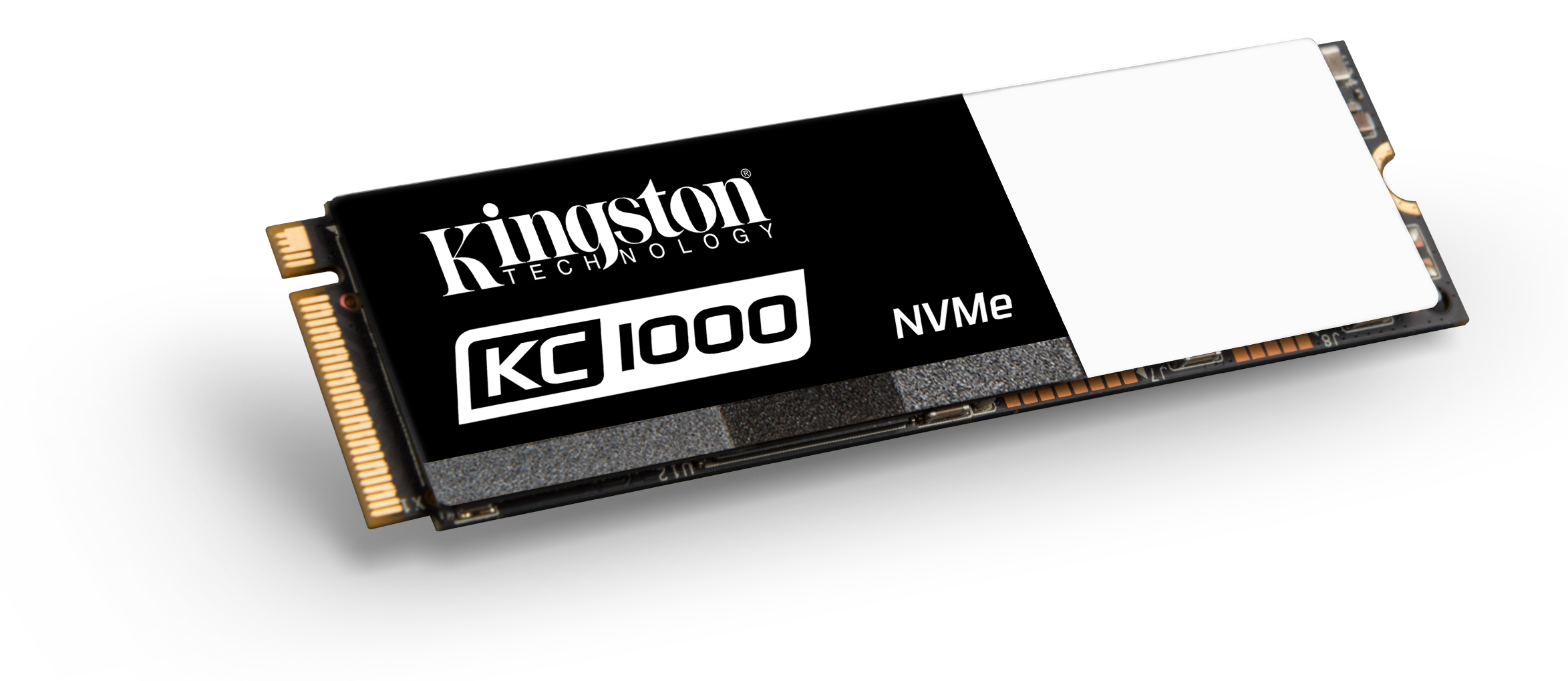 KC1000 SSD M.2 - Kingston announced first NVMe SSD, the KC1000