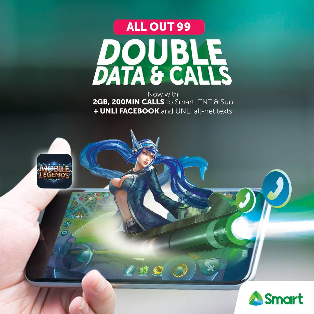 , Smart beefs up Gigasurf, Now with twice data allocation and unli FB, Gadget Pilipinas