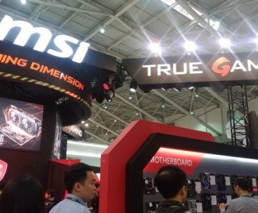 A Quick Look at the MSI Booth in COMPUTEX 2017!