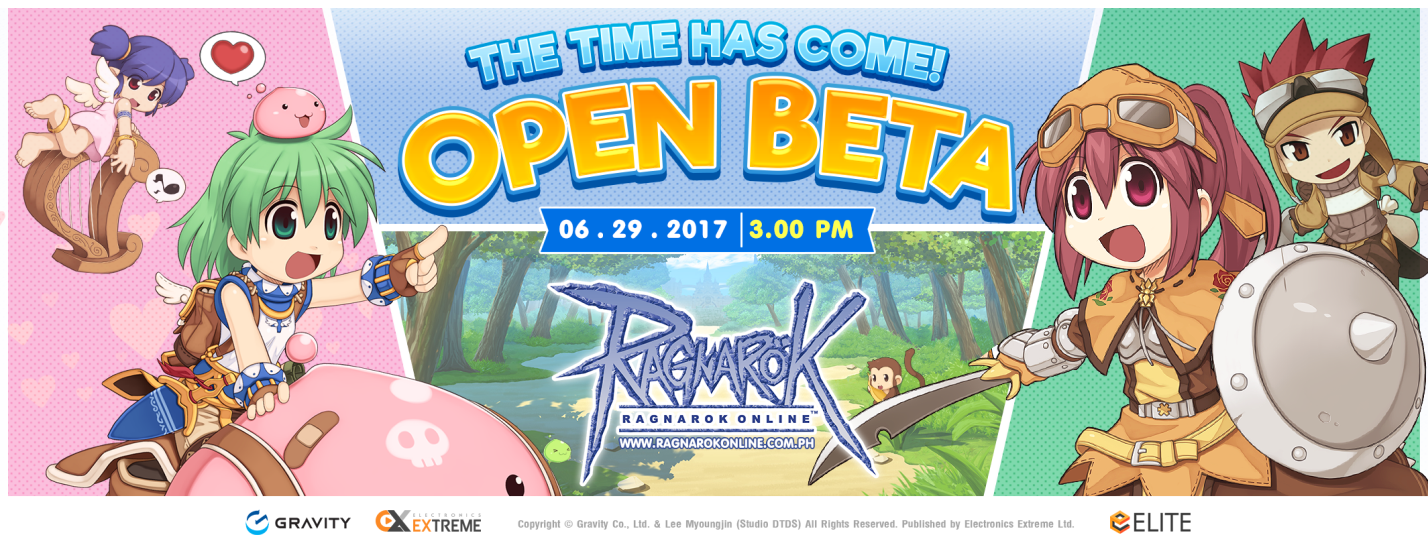 Ragnarok Online PH Open Beta Starts Tomorrow, June 29 at 3PM!