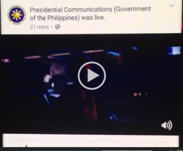 "watchtower 370x305 - Did Presidential Communications live-stream ""Logan"" on its Facebook page?"
