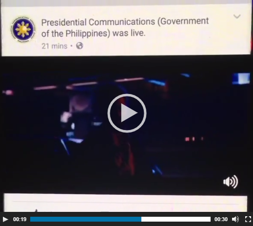 "watchtower - Did Presidential Communications live-stream ""Logan"" on its Facebook page?"