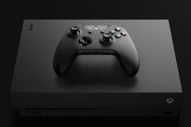xbox onex 2 270x180 - Microsoft at E3: Xbox One X and a Ton of New Games