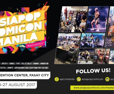 APCC Event Poster 370x305 - First Batch of Guest Artists for AsiaPOP Comicon Manila 2017 Revealed!
