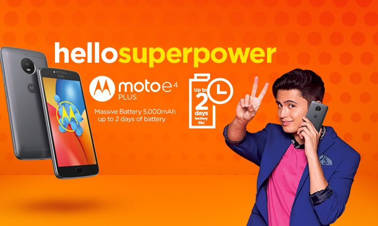 The Moto E4 Plus is Now Available in Stores and in Lazada for Only PhP8,999!