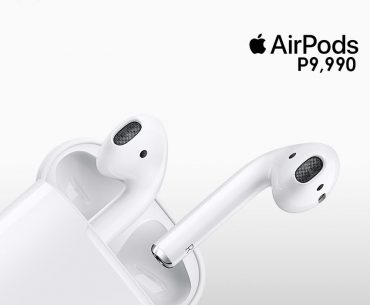 Apple AirPods Now Available at Widget City Hub for PhP9,990