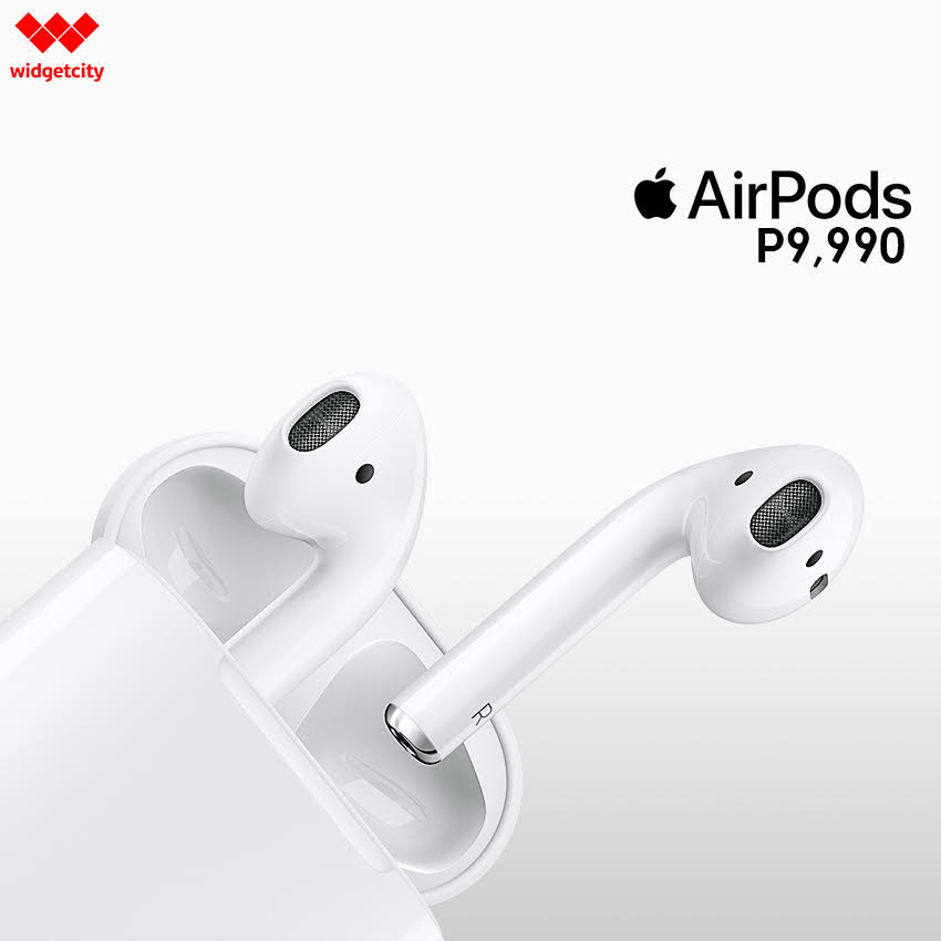 , Apple AirPods Now Available at Widget City Hub for PhP9,990, Gadget Pilipinas